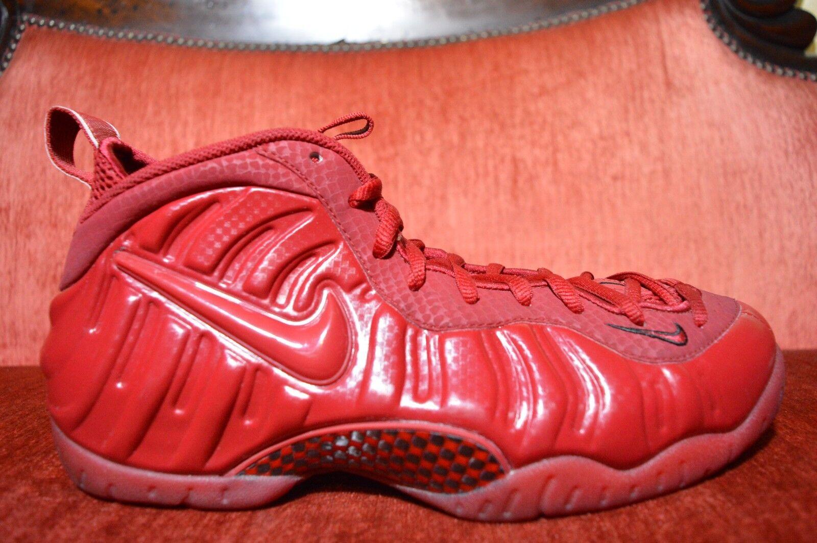 Nike air foamposite dell'ottobre rosso yeezy palestra università dimensioni 624041 603