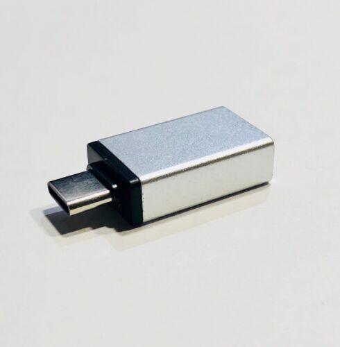 2-Pack USB C Adapter Hi-speed USB Type C to USB-A 3.0 Black