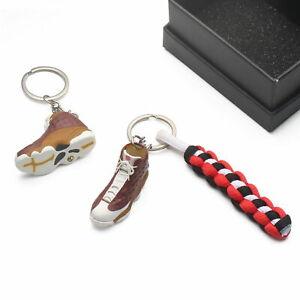 3D-Mini-Sneaker-Shoes-Keychain-Bin23-Bin-Premio-With-Strings-for-Air-Jordan-13