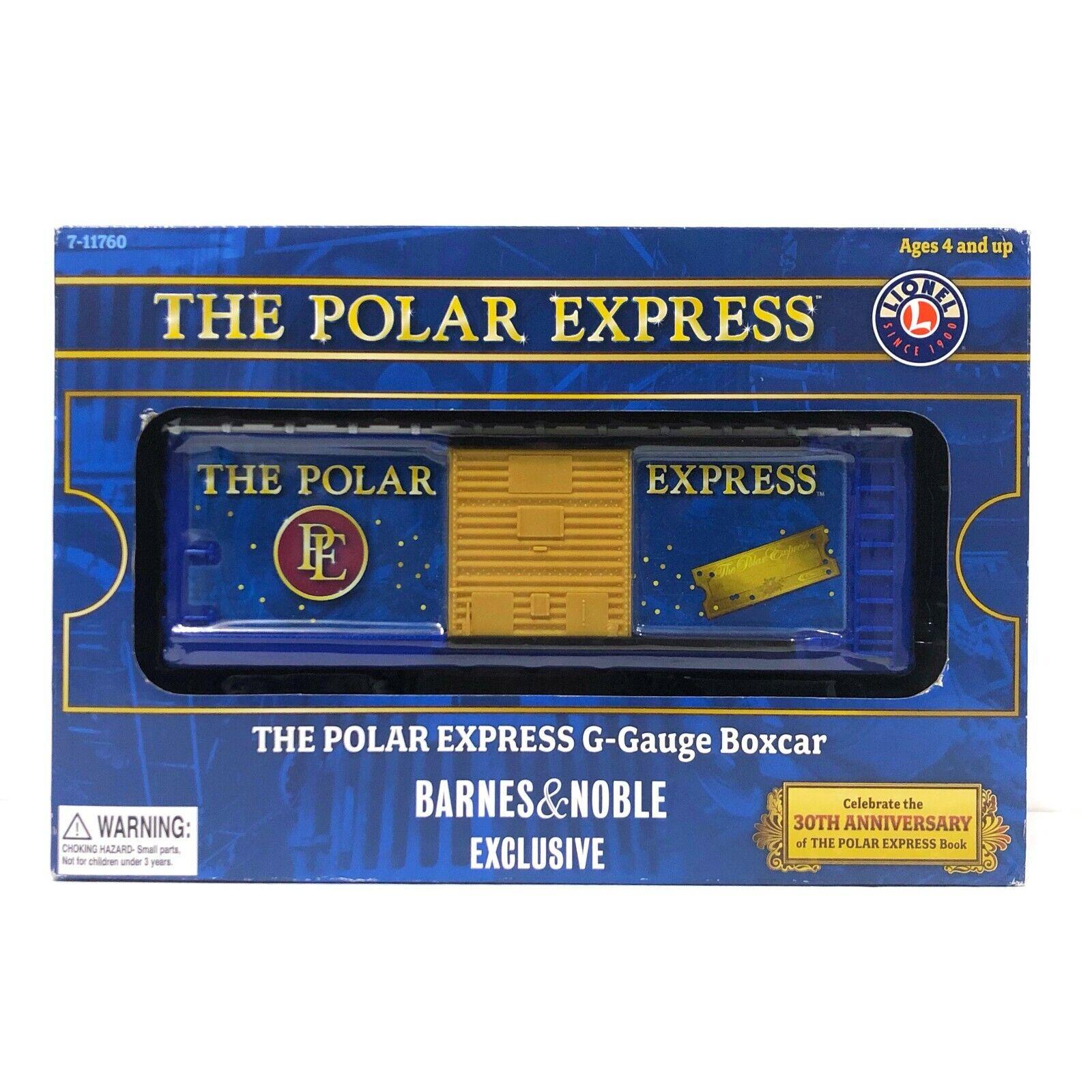NUOVO Lionel il Polar Express GGauge scatolaauto Barnes & Noble esclusivo 711760 NUOVO IN SCATOLA