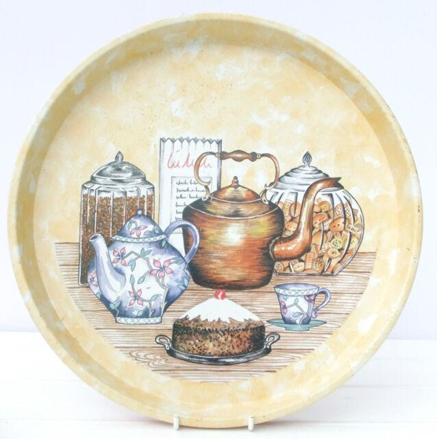 Vintage Retro Regency Ware Tin Tea Tray