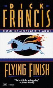 Dick-Francis-Flying-Finish-Mystery-Fiction-Mass-Market-1987
