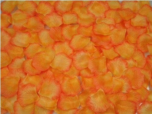 100 Silk Fabric Rose Petals–Wedding Party Table Confetti /& Flower Girl Sprinkles