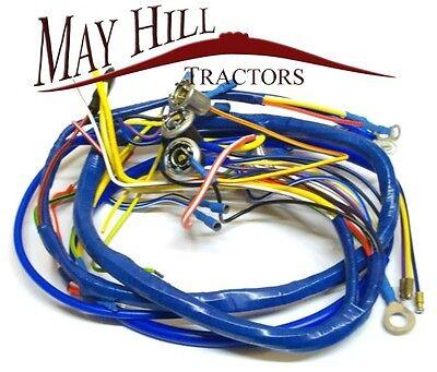 fordson super dexta tractor wiring loom, harness