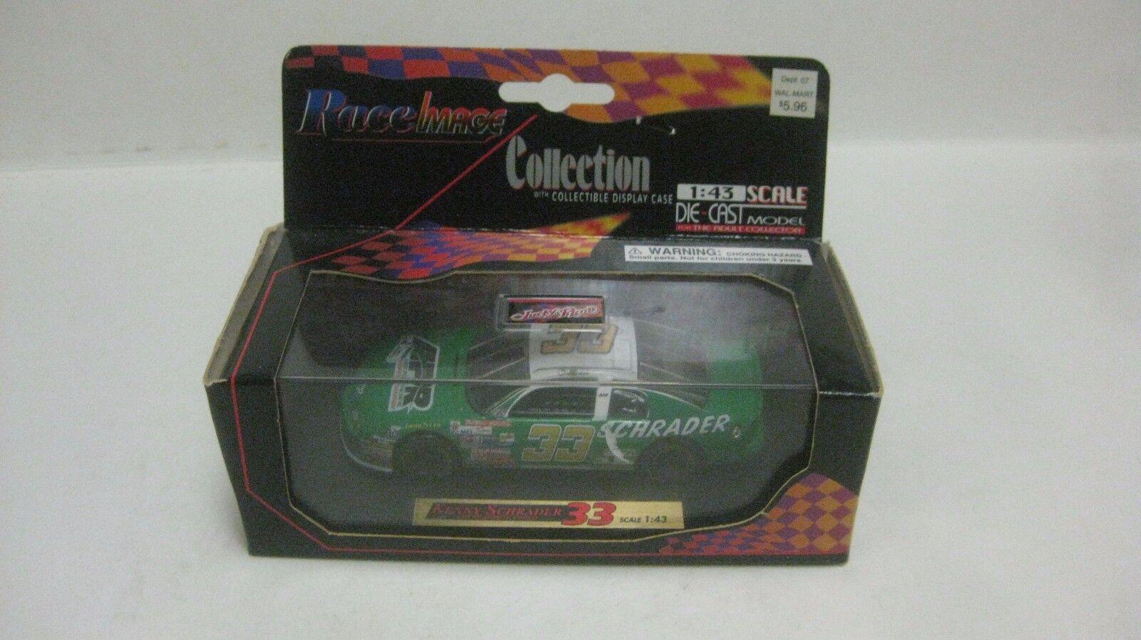 Nascar Kenny Schrader Chevy Monte Carlo 1 43 de Metal Carrera Imagen Nuevo