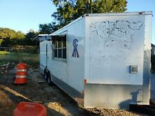 Competition Bbq Concession Trailer