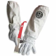 Cotton Amp Sheepskin Beekeeping Medium Gloves With J Hook Hive Tool Gl Glv Jhk Med