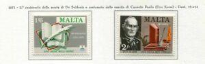 37469) Malta 1971 MNH Authors 2v