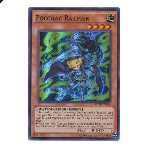 Zoodiac Ratpier - RATE-EN014 - Super Rare - Yugioh