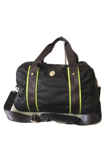 Lululemon Gym Bag Black With Lime Green Trim And S