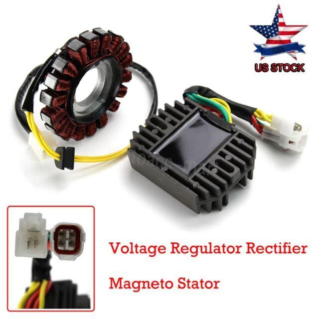 Voltage Regulators Rectifier & Stator Coil For Suzuki ...