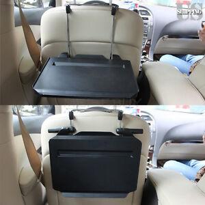 Car Vehicle Seat Pc Mount Tray Portable Foldable Table Laptop Desk ...