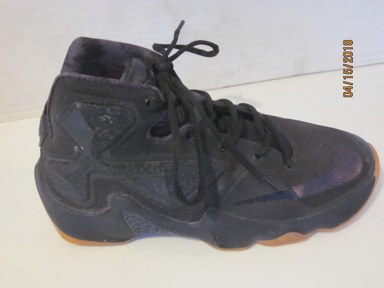 2018 Nike Lebron XIII 13 Black Lion SZ 9.5 Black Black Anthracite 807219-001 j28