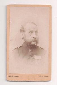 Vintage-CDV-Fischer-II-2nd-lieutenant-Seventh-Division-German-Military