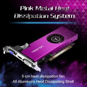 Yeston RX550-4G D5 LP Graphics Cards Radeon Chill 4GB Memory GDDR5 128Bit 2021 *