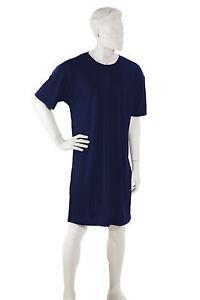 Superior blu seta da 100 uomo Naturals Camicia Interlock notte L YwIvO8