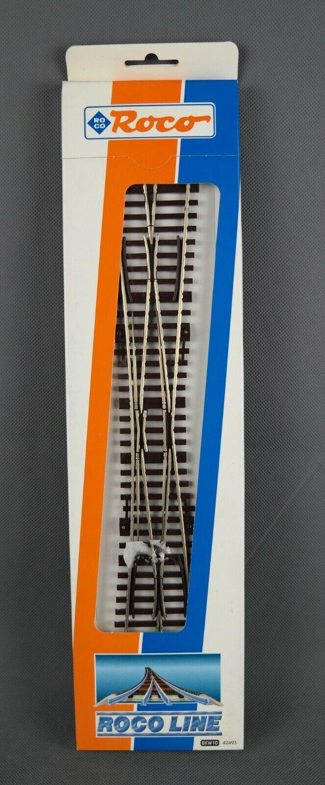 ROCO 42493  - Einfache Kreuzungsweiche Kreuzungsweiche Kreuzungsweiche EKW10  2xD2  D8 - NEUWARE  | Niedriger Preis  6146cd