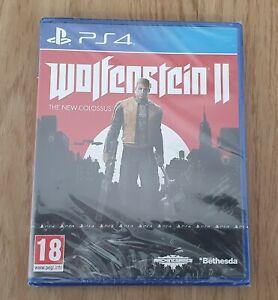 Wolfenstein 2 Playstation PS4 - Neuf