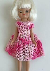 Clothes-for-Tiny-Betsy-McCall-8-034-Tonner-Doll-Handmade-USA-Dress-Lot-TB-22-Pink