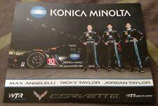 2016 Wayne Taylor Racing Chevy Corvette DP Rolex 24 IMSA WTSC postcard