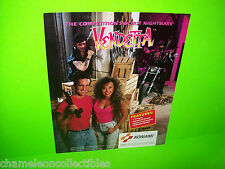 VENDETTA By KONAMI 1991 ORIGINAL NOS VIDEO ARCADE GAME PROMO SALES FLYER