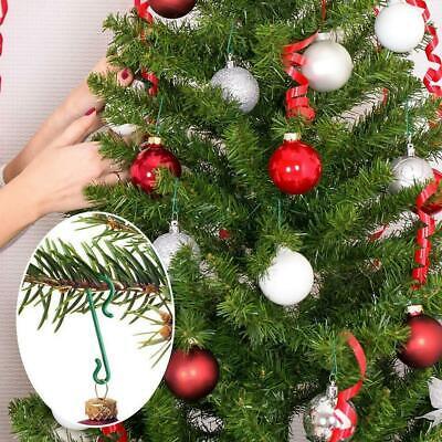100x Christmas Tree Hanger Christmas Baubles Ball Hanger Fast Hanger