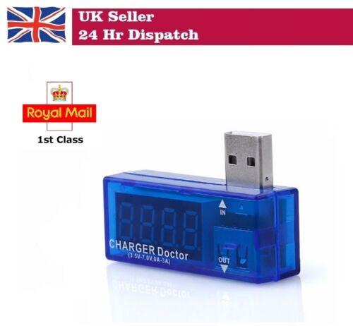 Adafruit USB Charger Medico Mini Display Digitale Potenza Corrente Tensione Voltmetro
