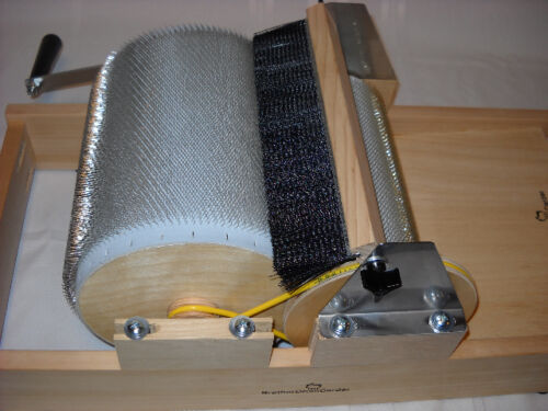 NEW STANDARD BROTHER DRUM CARDER COARSE MEDIUM OR FINE WITH PACKER BRUSH//DOFFER