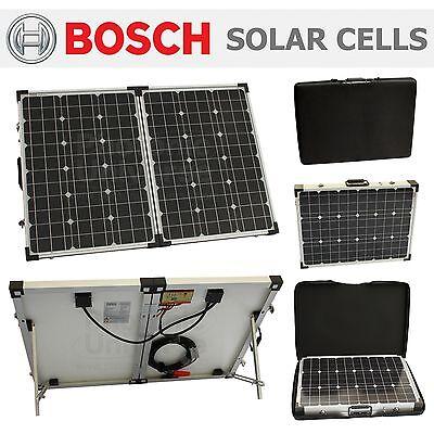 100 watt 12V folding solar charger for motorhome,caravan,camper,boat 100W panel