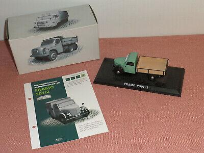 Datenblatt 1:43 Modell Framo 501//2 LKW DDR-Nutzfahrzeuge Atlas-Verlag