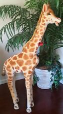 "VINTAGE 1969 STUDIO STEIFF  GIRAFFE 59"" RARE WEST GERMANY"