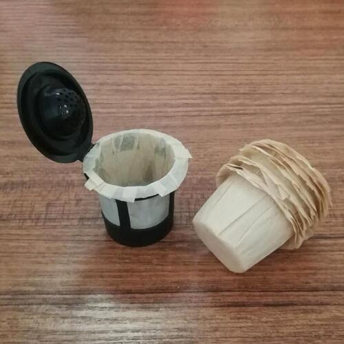 100stk Papierfilter Cups Ersatz K-Cup für Keurig K-Cup Atemberaubend best D3P7