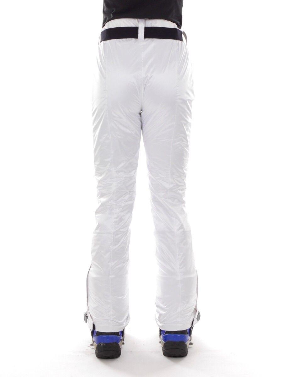 CMP Pantaloni Pantaloni Pantaloni da Snowboard Pantaloni Sci Neve Bianco Cintura Climaprotect c746cb