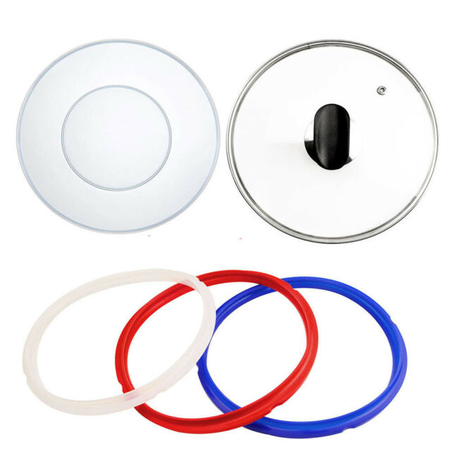 Silicone Lid Cover Tight Seal For Inner Pot 5//6 Qt Fits Instant Pot DUO60 LUX60