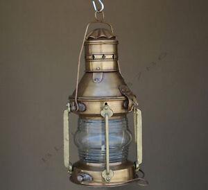 Lovely Image Is Loading Antique Marine Ship Lantern Boat Light Anchor Lamp