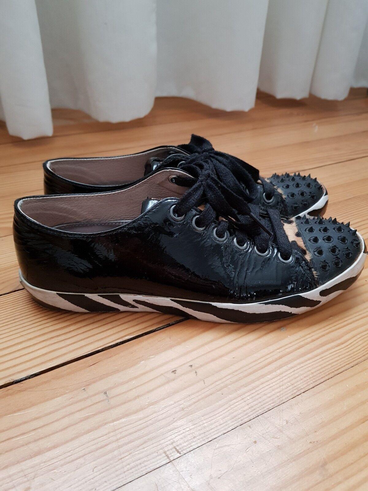 JUST CAVALLI Sneakers 36 DesignerSpikesLack