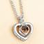 Collana-Ti-Amo-Donna-I-Love-You-in-100-Lingue-Ologramma-Cuore-Coppia-Fidanzati miniatura 19