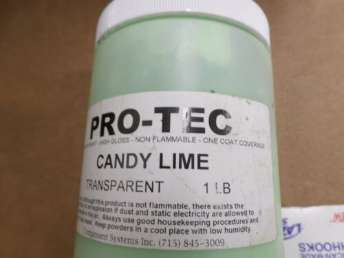 CANDY LIME PWDER PAINT    1 POUND