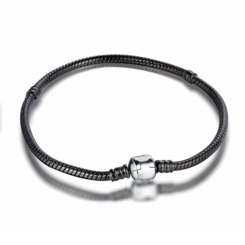Fine Bracelet bangle chains Fit 925 Silver Sterling European charms Bead pendant