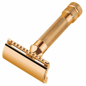 MERKUR-Solingen-Safety-razor-gold-plated-closed-comb-9034003