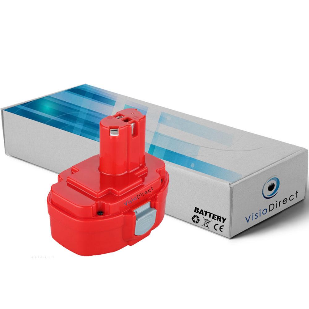 Batterie 18V 3000mAh pour MAKITA 4334DWDE - Société Française -