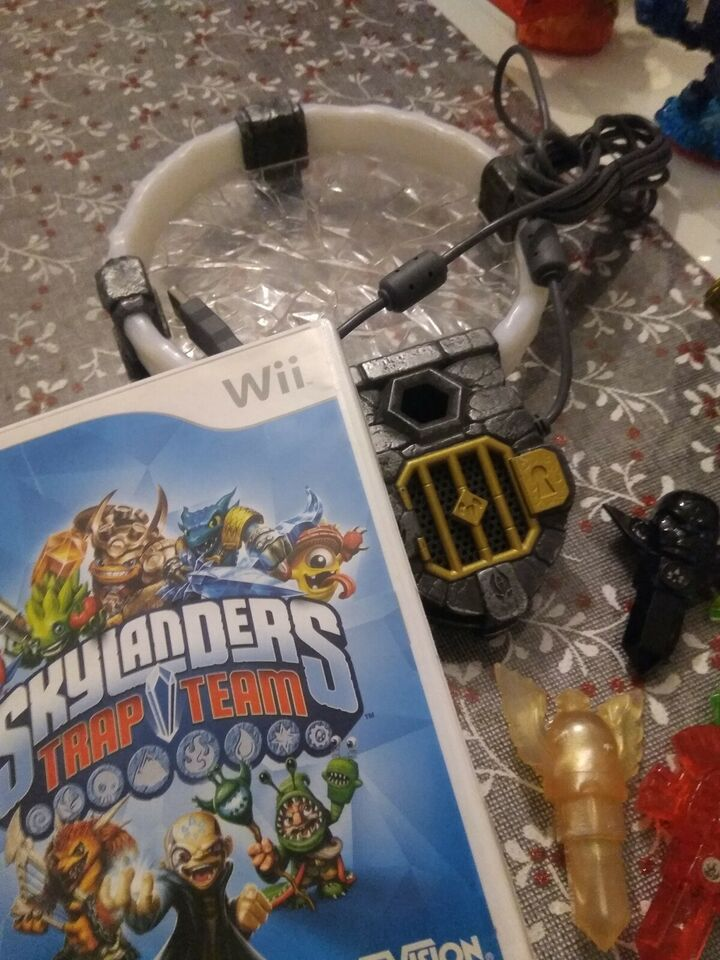Skylanders Trap Team, Nintendo Wii, action