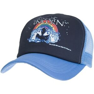 61df127759e Image is loading Last-Unicorn-Rainbow-Trucker-Cap
