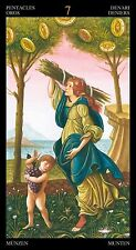 golden tarot of botticelli 78 full colour tarot cards with gold foil impressions