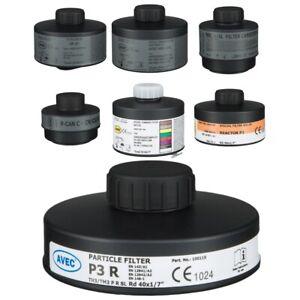 AVEC-CHEM-Kombinationsfilter-A2AXP3-gegen-organische-Gase-amp-Daempfe-Schutzfilter