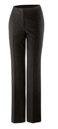 32-52 Exner Damenhose Anzughose Hüfthose Hose mit Schurwolle schwarz Gr