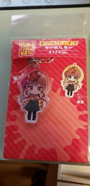 Acrylic Square Key Chain NEW Zombie Land Saga Hoshikawa Lily Zombie Ver