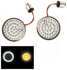 Drag Specialties LED Dynamic Ringz for Harley Turn Signals 1157 LED Inserts