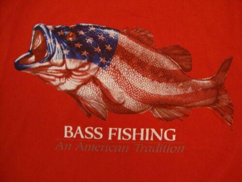 American Flag Bass Fishing An American Tradition R