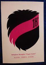 LOGO CARD - 18° BATT. BERSAGLIERI - POGGIO SCANNO